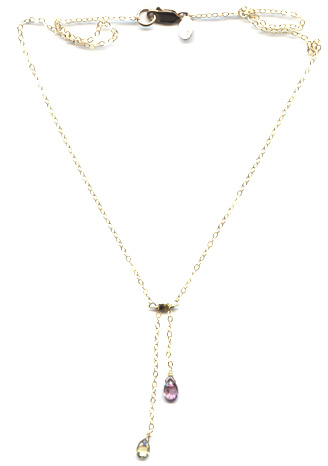 Two Tone Spinel Necklace