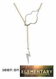 Weather the Storm! Necklace - Seen on Elementary