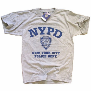 Nypd t shirt new york city police department screen for New york printed t shirts