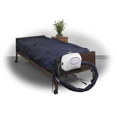Drive Medical 10 inch Lateral Rotation Mattress with on Demand Low Air Loss ls9500