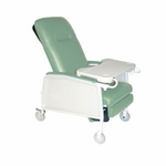 Drive Medical 3 Position Heavy Duty Bariatric Jade Geri Chair Recliner d574ew-j