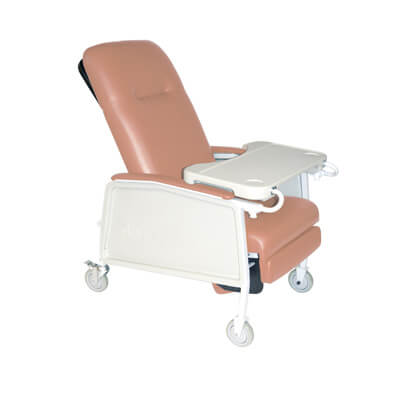 Drive Medical 3 Position Rosewood Geri Chair Recliner d574-r