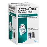Accu-Chek Compact Plus Test Strip Drums - 102 tests, 6 drums