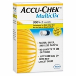 Accu-Chek Multiclix Lancets - 102 Strips
