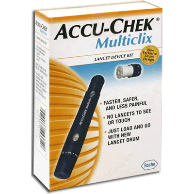 Accu-Chek Multiclix Lancets Device Kit with 12 Lancets