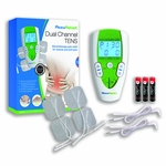 AccuRelief Electrotherapy TENS Pain Relief System Dual Channel