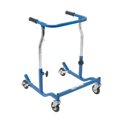 Drive Medical Adult Blue Anterior Safety Roller