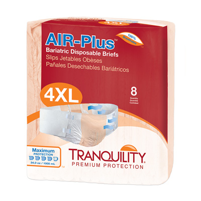 AIR-Plus Bariatric Disposable Briefs - 2195