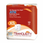 All-Through-the-Night ATN Disposable Briefs - X-Small - 2183