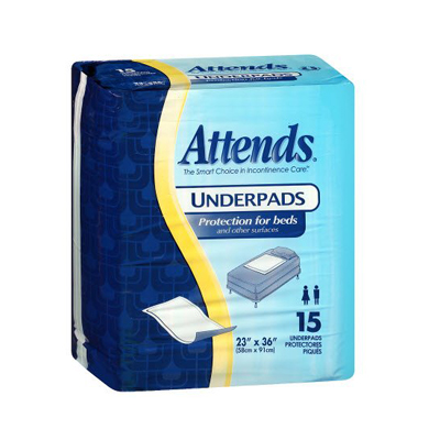 Attends Underpad, Retail - 23x36 in (printed bags) - UFS236RG - 150/cs