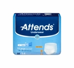 Attends Underwear Extra Absorbency - XL, HHC - AP0740100 - 100/cs
