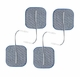 Axelgaard PALS Blue 2x2 in Square Silver Electrodes - 4 Pads