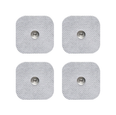 Axelgaard UltraStim SNAP 2x2 in Square Silver Grid Electrodes 4 Pads