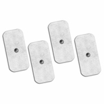 Axelgaard UltraStim Snap Silver Grid Electrodes 2x4 in Rectangle 4 Pads