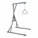 Drive Medical Bariatric Heavy Duty Silver Vein Trapeze Bar 13049sv