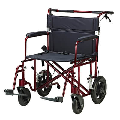 Drive Medical Bariatric Heavy Duty Transport Chair atc22-r