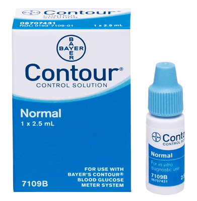 Bayer Contour Control Solution, Normal