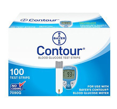 Bayer Contour Test Strips - 100 Strips