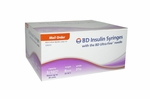 BD Ultra-Fine Insulin Syringes 31 Gauge 0.3 cc 5/16 inch - 90 ea