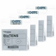 BioTENS (Formerly Bio-Flex BF-5) TENS Silver Electrodes 2 in Round, White Mesh Backed - 16 Pads