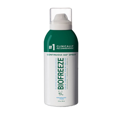 Biofreeze Classic Colorless Spray 360 - 3oz