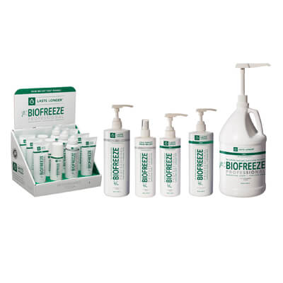 Biofreeze Professional Gel - Clinical Sizes