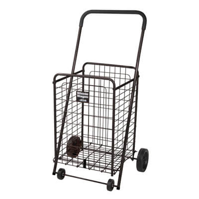 Drive Medical Black Winnie Wagon All Purpose Shopping Utility Cart Model 605b