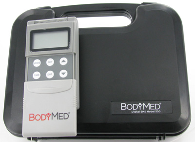 BodyMed ZZA500 EMS Electric Muscle Stimulator Unit- 3 Modes