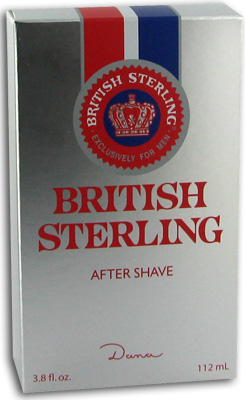 British Sterling After Shave - 3.8 oz (112 mL)