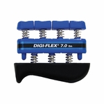 CanDo Digi-Flex Hand/Finger Exerciser - Blue - 7.0 lbs - 10-0743 - 3 packs