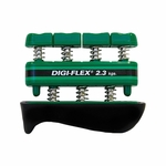 CanDo Digi-Flex Hand/Finger Exerciser - Green - 5.0 lbs - 10-0742 - 3 packs