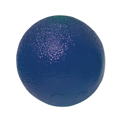 CanDo Gel Hand Exercising Ball - Blue - Firm - 10-1494 - 6 packs