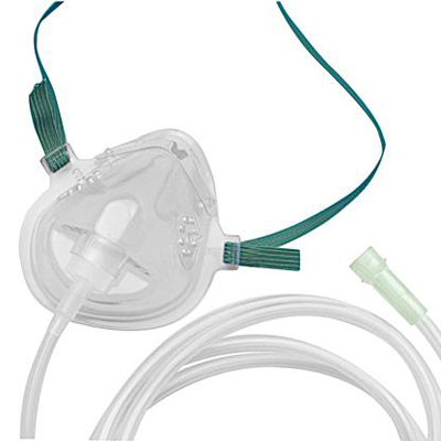 CareFusion AirLife Pediatric Oxygen Mask with 7 foot tubing