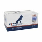 CarePoint Vet U-40 Insulin Syringes - 29 G 0.3 cc 1/2 in