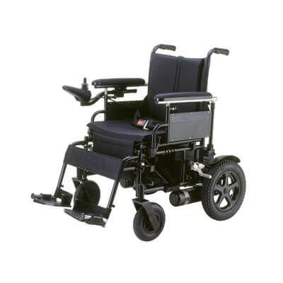 Drive Medical Cirrus Plus 18 inch Folding Power Wheelchair cpn18fba