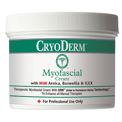 Cryoderm Myofacial Cream 32 oz Gel