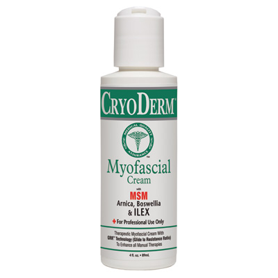 Cryoderm Myofacial Cream 4 oz Gel