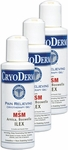 Cryoderm Pain Relief Gel - 4 oz (3 Pack)