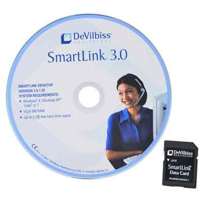 DeVilbiss Healthcare SmartLink 3.0 Software CD and SD Card sl3-cdpkg