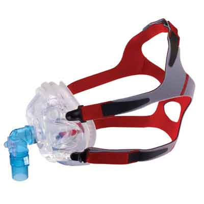DeVilbiss Healthcare V2 CPAP Full Face Mask, Extra Small 113488