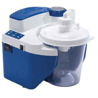 DeVilbiss Healthcare Vacu-Aide QSU Quiet Suction Unit with External Filter 7314d-d-exf