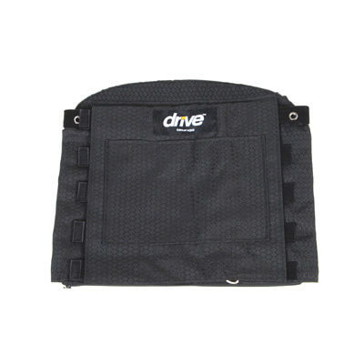 Drive Medical Adjustable Tension Back Cushion, 22-26 in Wheelchair - Model 14301