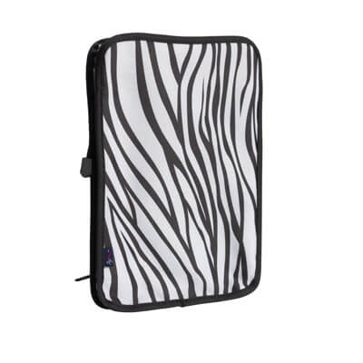 Drive Medical AgeWise Walker Rollator Computer/Tablet Caddy, Zebra - Model RTL6080Z