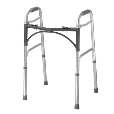 Drive Medical Deluxe Two Button Folding Walker - Model 10200-1