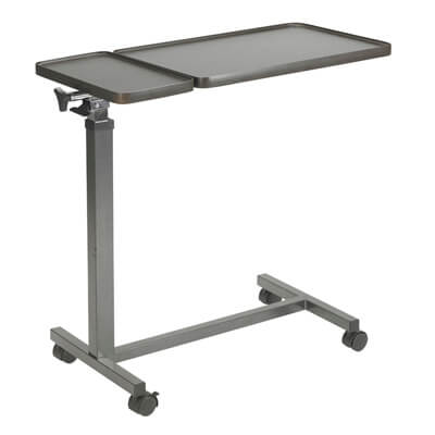 Drive Medical Double Top Overbed Table - Model 13068BV