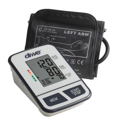 Drive Medical Economy Blood Pressure Monitor Upper Arm BP3600