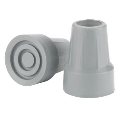 Drive Medical Gray Crutch Tips, 7/8 in diameter - Model RTL10439B