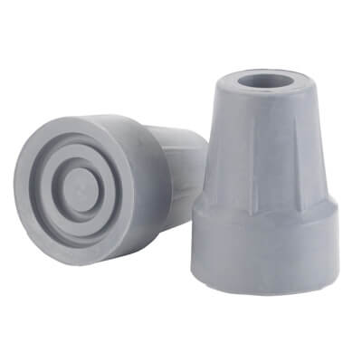Drive Medical Gray Forearm Crutch Tip, 5/8 in diameter - Model RTL10441B