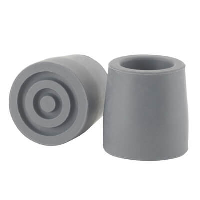Drive Medical Gray Utility Replacement Tip, 1 in - Model RTM10389GB