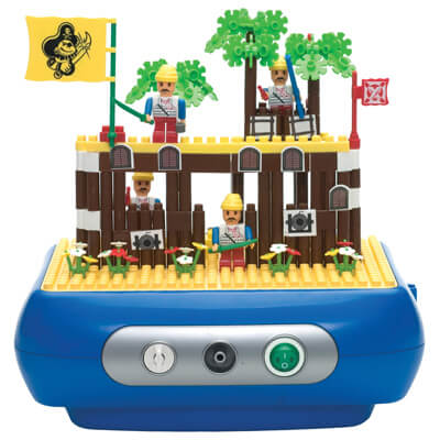 Drive Medical Interactive Nebulizer Building Block Kit, Pirate Island - Model mq0073